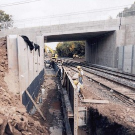 Main Line Second Track Project